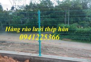 Hàng rào lưới thép hàn, hàng rào mạ kẽm, hàng rào sơn tĩnh điện
