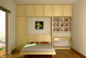 Giường gấp tường đa năng,  giường xếp ẩn tủ giá rẻ tphcm, bình dương