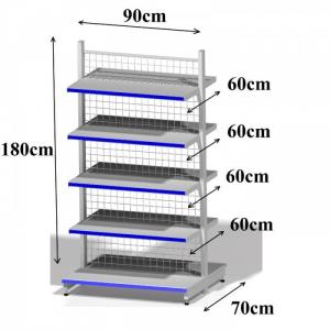Giá kệ siêu thị mini, cửa hàng tiện lợi, tạp hóa; Kệ trưng bày, Kệ sắt đa năng Đà Nẵng Quảng Nam