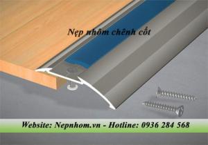 Nẹp nhôm chênh cốt NCP8 - Phụ kiện sàn gỗ
