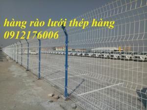 Chuyên sản xuất hàng rào lưới thép hàn mạ kẽm sơn tĩnh điện