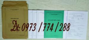 Trọn bộ biểu mẫu quản lý hồ sơ viên chức - Thông tư 07/2019/TT-BNV