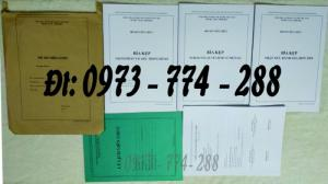 Nguyên bộ đầy đủ hồ sơ viên chức theo thông tư 07