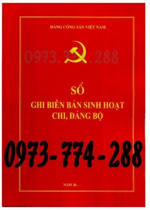 Bán Sổ họp ghi biên bản sinh hoạt chi, đảng bộ giá rẻ chất lượng uy tín tại Hà Nội