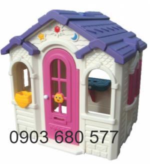 Cần bán nhà chơi cổ tích dành cho trẻ em mầm non