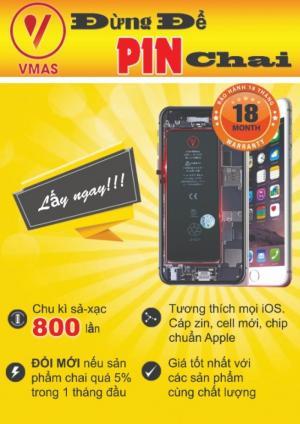 Pin vmas iphone 6/6/S giá tốt, hàng chính hãng, bảo hành 18 tháng uy tín