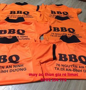 công ty may áo thun đồng phục BBQ