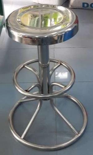 Ghế inox 304 bền đẹp dùng cho bệnh viện, phòng khám, phòng thí nghiệm