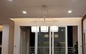 Đèn chùm phòng ăn cổ điển sang trọng cho chung cư