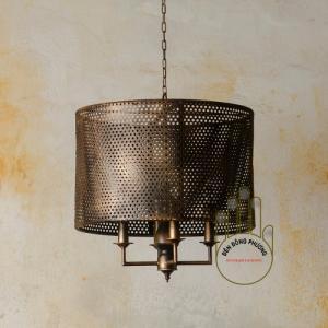Đèn chùm sắt cổ điển Đông Phương