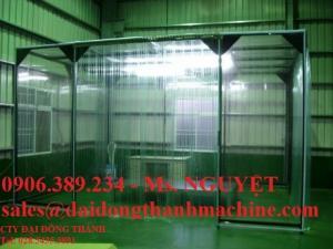 Màng nhựa PVC chắn côn trùng, màng chịu nhiệt kho lạnh, rèm nhựa pvc