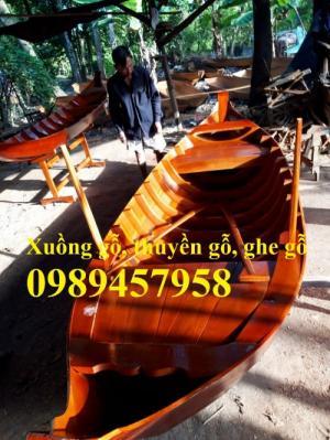 Nhận đóng thuyền gỗ, xuồng gỗ ba lá theo yêu cầu