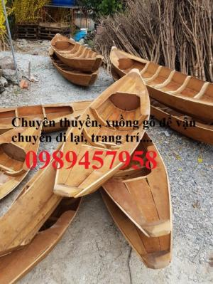 Sản xuất thuyền gỗ trang trí nhà hàng, xuồng gỗ quán cafe