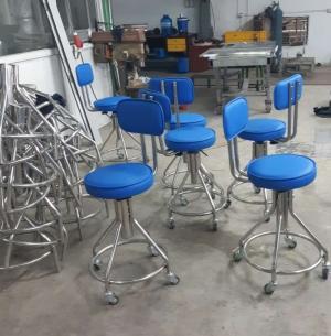 Ghế inox 304 dùng cho phòng thí nghiệm, phòng sạch