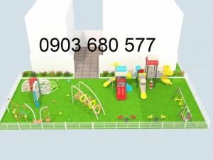 Chuyên nhận tư vấn, thiết kế và thi công khu vui chơi, công viên, sân chơi trẻ em