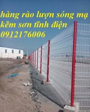 2019-12-12 16:18:38  20  Hàng rào lưới thép hàn mạ kẽm sơn tĩnh điện D4 a 50x150 105,000