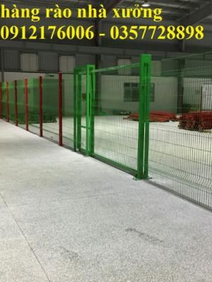 2019-12-12 16:18:38  19  Hàng rào lưới thép hàn mạ kẽm sơn tĩnh điện D4 a 50x150 105,000