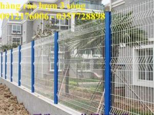 2019-12-12 16:18:38  7  Hàng rào lưới thép hàn mạ kẽm sơn tĩnh điện D4 a 50x150 105,000