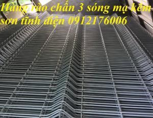 2019-12-12 16:18:38  13  Hàng rào lưới thép hàn mạ kẽm sơn tĩnh điện D4 a 50x150 105,000