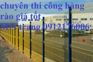Hàng rào lưới thép hàn D4 a 50x150 mạ kẽ