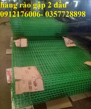 2019-12-12 16:18:38  21  Hàng rào lưới thép hàn mạ kẽm sơn tĩnh điện D4 a 50x150 105,000