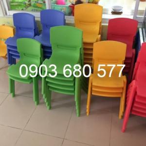 2019-12-12 16:19:26  7  Cần bán ghế nhựa đúc dành cho trẻ em mầm non 90,000