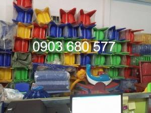 2019-12-12 16:19:26  14  Cần bán ghế nhựa đúc dành cho trẻ em mầm non 90,000