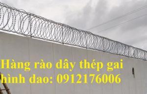 2019-12-12 20:25:27  1  Hàng rào dây thép gai giá tốt nhất tại Hà Nội 175,000