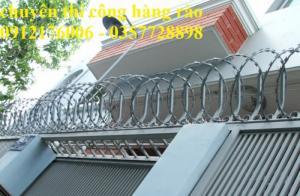 2019-12-12 20:25:27  4  Hàng rào dây thép gai giá tốt nhất tại Hà Nội 175,000