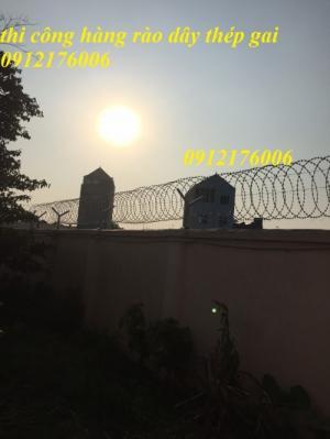 2019-12-12 20:25:27  10  Hàng rào dây thép gai giá tốt nhất tại Hà Nội 175,000