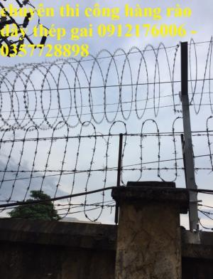 2019-12-12 20:25:27  19  Hàng rào dây thép gai giá tốt nhất tại Hà Nội 175,000
