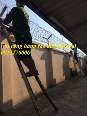 2019-12-12 20:25:27  22  Hàng rào dây thép gai giá tốt nhất tại Hà Nội 175,000