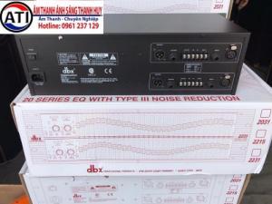 Lọc xì âm thanh DBX2231 hangfg nhập cao cấp
