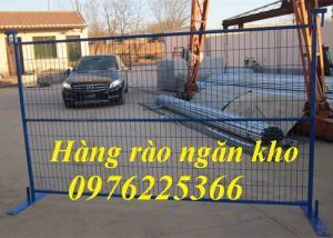 Hàng rào ngăn kho, vách lưới ngăn kho, hàng rào di động
