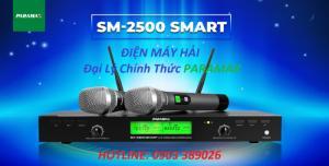 Micro cao cấp Paramax SM-2500 Smart thu phát xa trên 80m