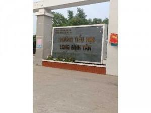 Nhà khu phố long điền phường long Bình