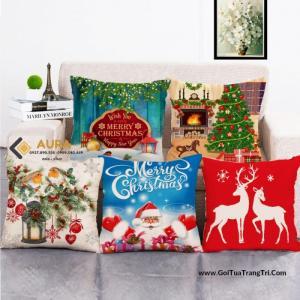 Gối Noel – Gối trang trí Giáng Sinh