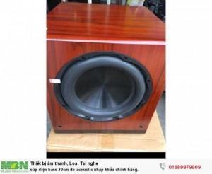 Súp điện bass 30cm db acoustic nhập khẩu chính hãng.