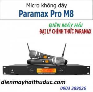Micro cao cấp Paramax Pro M8 sản phẩm mới nhất của hãng Paramax