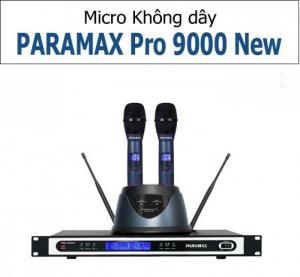 Micro Paramax Pro-9000 hỗ trợ sạc, thu sóng xa đến 50m