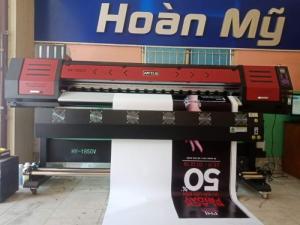 Máy in HongYing 1m85 - Máy in PP, decal giá rẻ
