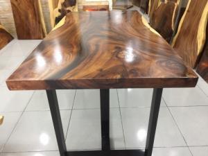 Bàn gỗ me tây nguyên tấm dài 1.51m rộng 76cm
