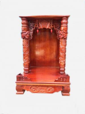 Bàn thờ thần tài ông địa gỗ xoan đào OD111