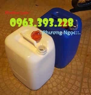 Can nhựa 30 Lít, can nhựa HDPE, can đựng hóa chất