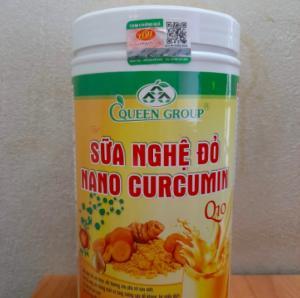 Bột Sữa Nghệ Nano Curcumin