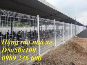 Báo giá hàng rào lưới thép mạ kẽm sơn tĩnh điện tại Hà Nội