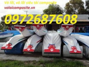 Vỏ lãi composite, thuyền composite, cano composite giá rẻ