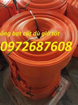 Chuyên ống bạt cốt dù dẫn nước, ống bạt Chi Lê, giá sỉ lẻ tốt nhất