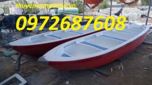 Thuyền nhựa composite chở 6-8 người giá rẻ tại tp.HCM