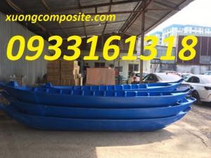 Cung cấp thuyền Composite giá rẻ, thuyền ba lá, tam bản, vỏ lãi trên toàn quốc